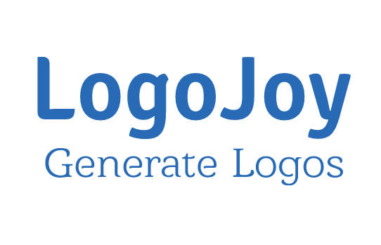logo joy generate logos