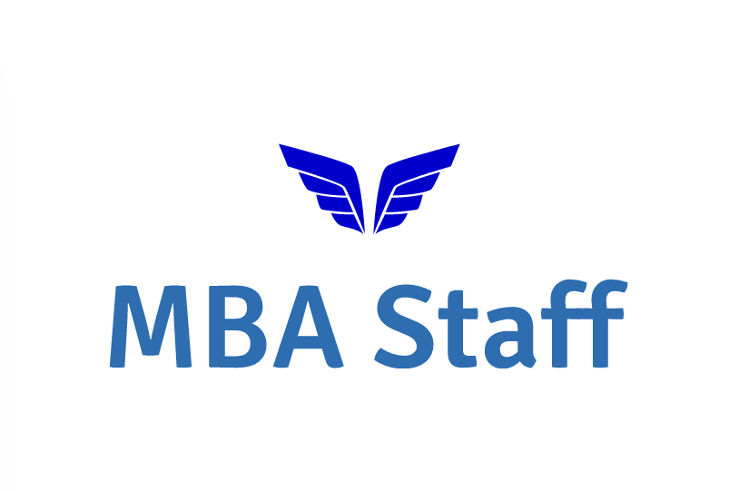 MBA Staff logo with wings