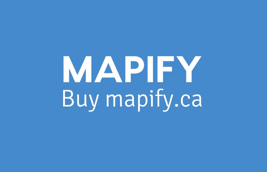 Mapify Buy mapify.ca logo