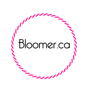 Bloomer logo - buy bloomer.ca